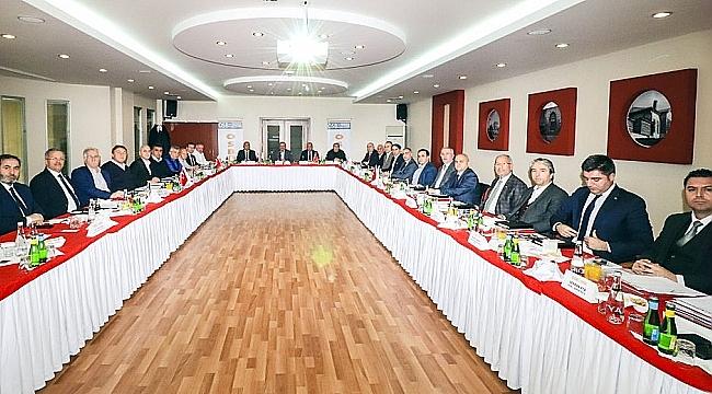 OSBÜK YKK Konya'da toplandı!