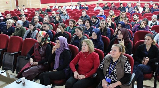 Darıca Farabi'de AFAD eğitimi