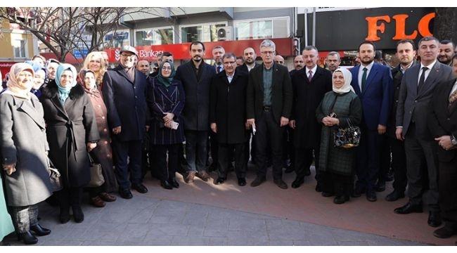 AK Parti depremzedeleri unutmadı