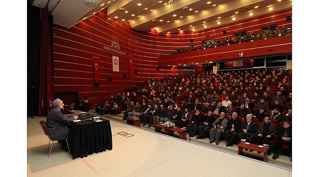 GKM'de Ahmet Doğan'ın sohbeti