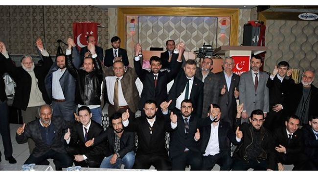 Saadet Darıca'da Çetinkaya'ya yeniden başkan seçildi