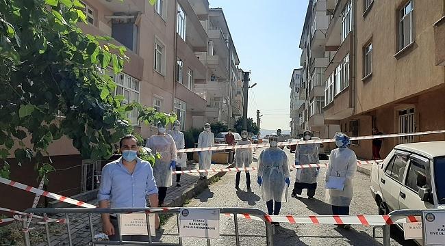 Darıca'da bir mahalle karantina altına alındı!