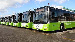 Büyükşehir 110 yeni otobüs alacak!