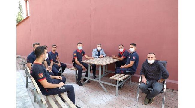 Şayir'den itfaiye personeline ziyaret!
