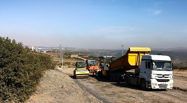 Büyükşehir Gebze'de asfaltları yeniliyor!