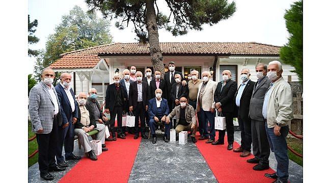 Kocaman'dan eski başkanlara ahde vefa