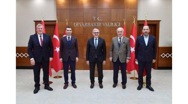 Başkan Aygün'den Vali Karaloğlu'na ziyaret