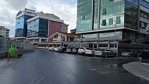 Gebze'de cafe önlerini otoparka çevirdiler!