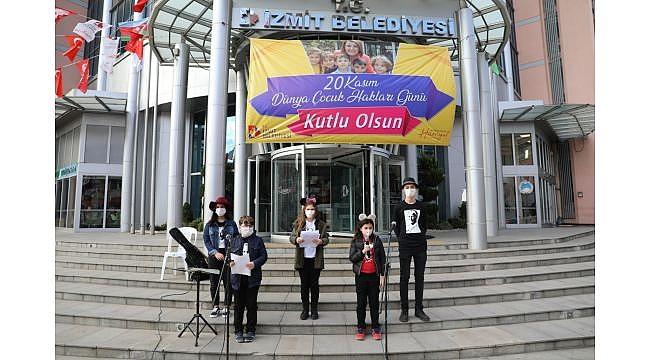 İzmit'te Dünya Çocuk Hakları Günü'ne özel oratoryo