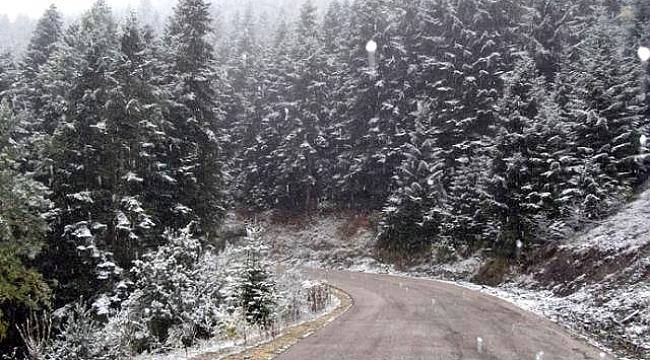 Kocaeli'ne ilk kar düştü!