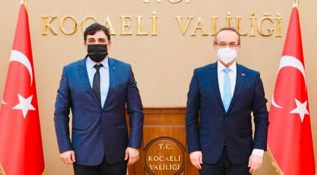 İKM Başkanı Murat Öztürk sorunları Vali Yavuz'a anlattı