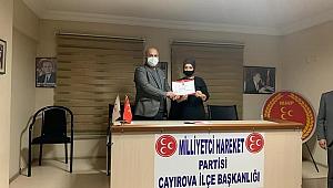 MHP Çayırova Kadın Kolları Başkanı Meryem Boz oldu!