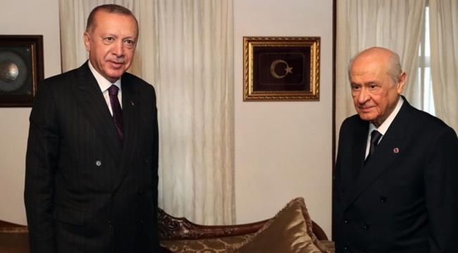 Bahçeli, Cumhurbaşkanı Erdoğan'ın doğum gününü kutladı