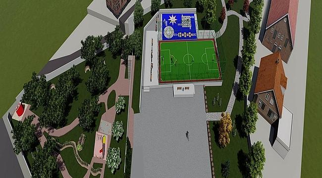 Başiskele'de Cumhuriyet parkı yenileniyor