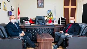 Başkanvekili Çakmak'tan Kadıoğlu'na ziyaret!