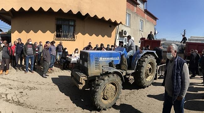 Büyükşehir Belediyesi'nin sera desteği çiftçilerin yüzünü güldürdü