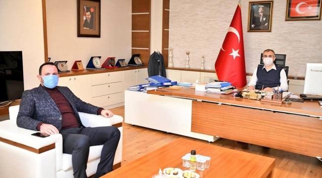 Güzel'den Çitçi'ye ziyaret!
