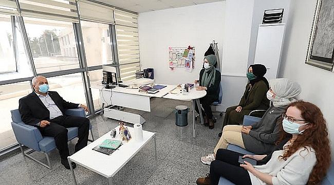 Büyükgöz'den aile danışma merkezine ziyaret
