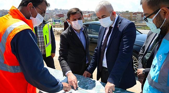 Büyükşehir Genel Sekreteri Gebze'de inceleme yaptı!