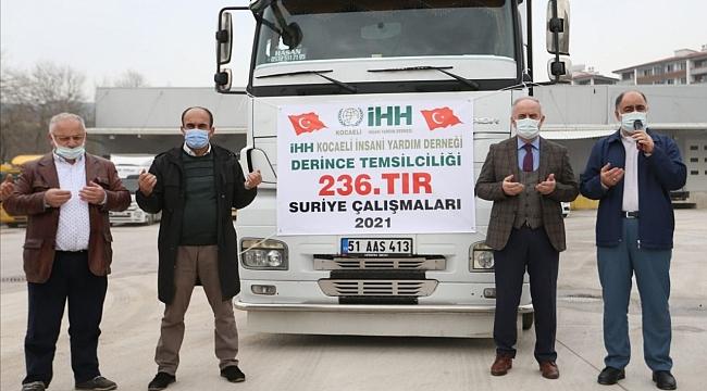 Derince'den İdlib'e Kardeşlik Eli