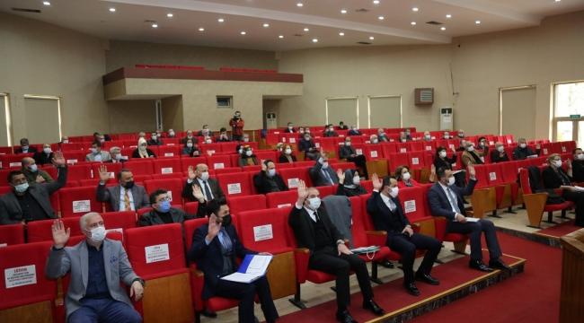 Gölcük Belediyesi Meclisi Nisan ayı oturumu yapıldı