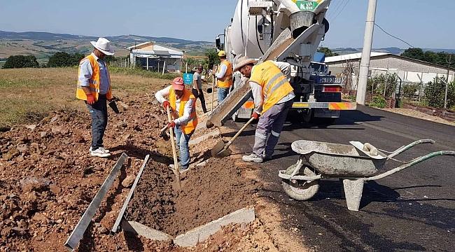Körfez, Himmetli Köyü Köseler Nalbantlar köy içi yolu daha güvenli olacak