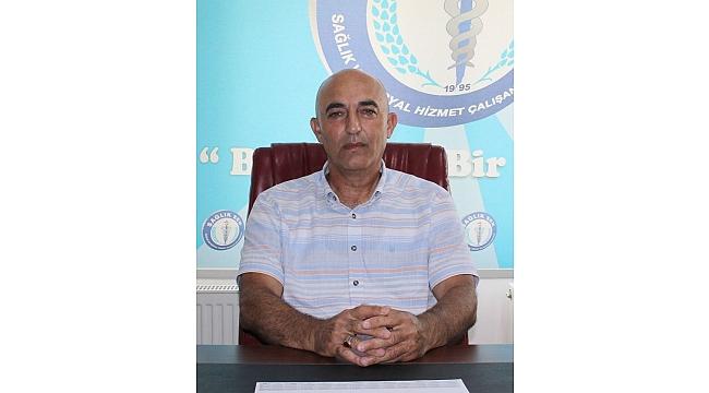 Şube Başkanı Erdal Yıldırım: