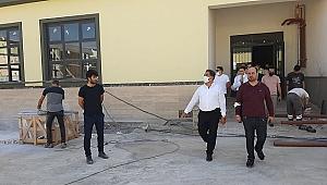 Kaymakam Güler Gebze'nin yeni okul inşaatında inceleme yaptı!