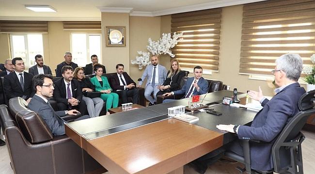 MHP Kocaeli'den Ellibeş'e iade-i ziyaret