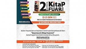 Çayırova 60 yazar ile Kitap Fuarı kapılarını açıyor