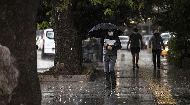 Rüzgarlı ve yağışlı havaya dikkat!